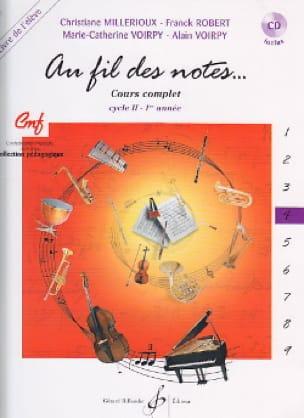 Au Fil des Notes - Volume 4 - Elève - laflutedepan.com