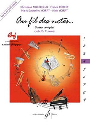 Au Fil des Notes - Volume 4 - Professeur - laflutedepan.com