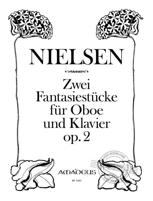 2 Fantasiestücke Op. 2 - NIELSEN - Partition - laflutedepan.com