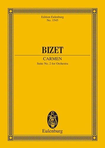 BIZET - Carmen - Suite N ° 2 - Partition - di-arezzo.co.uk