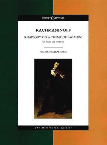 RACHMANINOV - Rhapsody On A Theme Of Paganini - Partition - di-arezzo.com