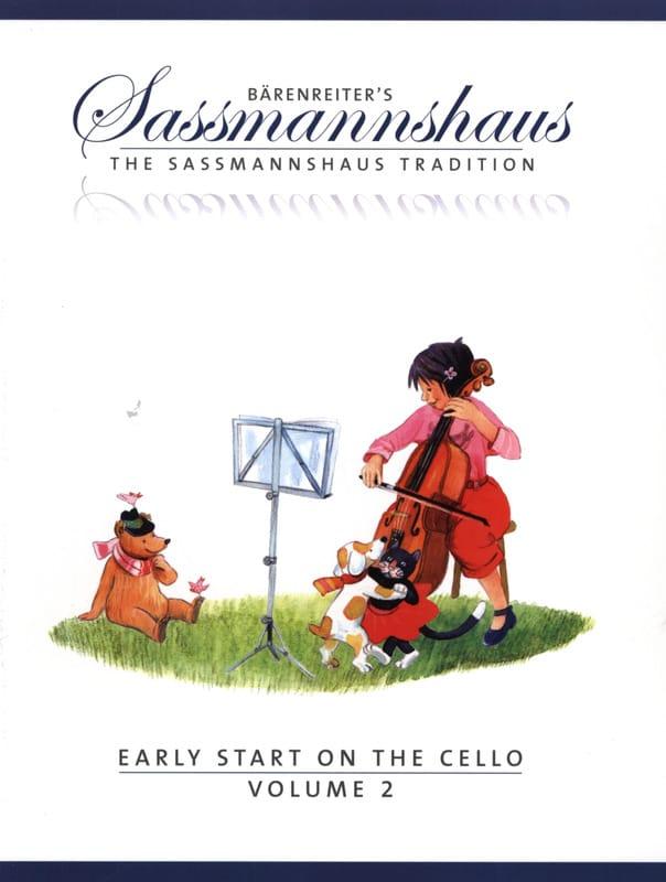 Early Start On The Cello Vol.2 - egon sassmannshaus - laflutedepan.com