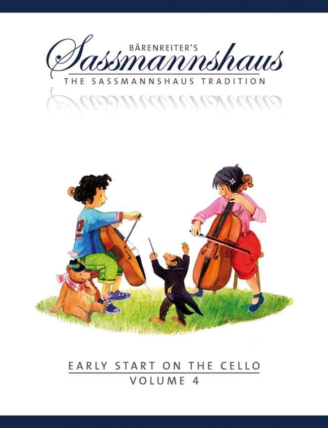 Early Start On The Cello Vol.4 - egon sassmannshaus - laflutedepan.com