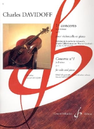 Charles Davidoff - 1st Concerto in Si Min. Op. 5 - Partition - di-arezzo.co.uk
