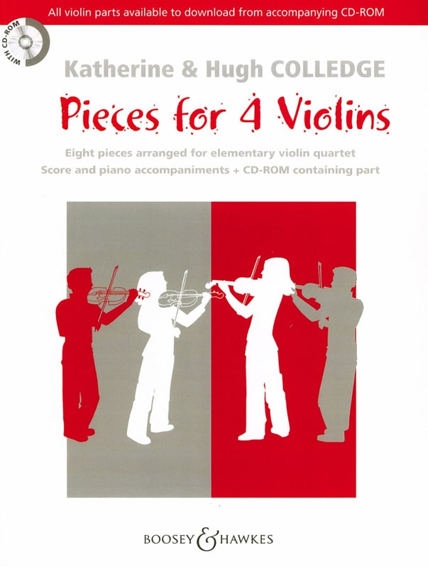 - Pieces For 4 Violins Rom - Partition - di-arezzo.co.uk