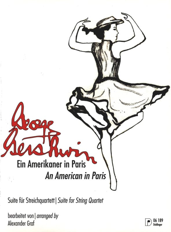 George Gershwin - An American In Paris - Partition - di-arezzo.com