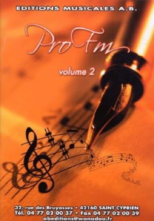 Pro FM Volume 2 - Partition - Solfèges - laflutedepan.com