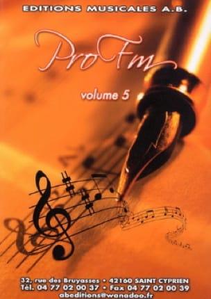 Pro FM Volume 5 - Partition - Solfèges - laflutedepan.com
