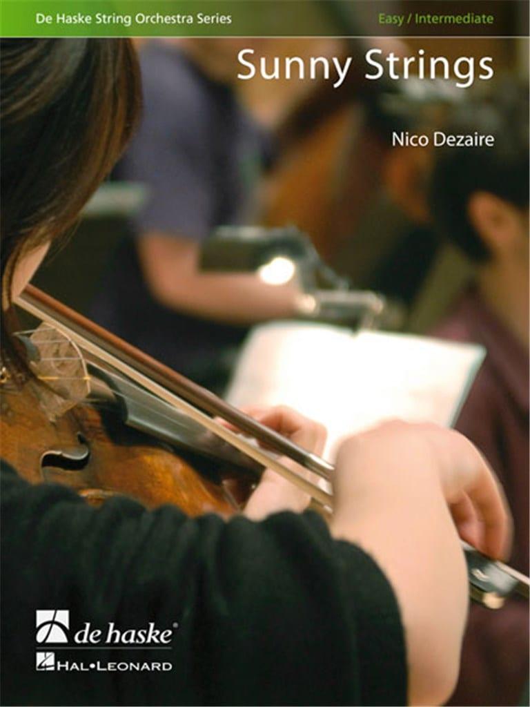 Sunny Strings - Nico Dezaire - Partition - laflutedepan.com