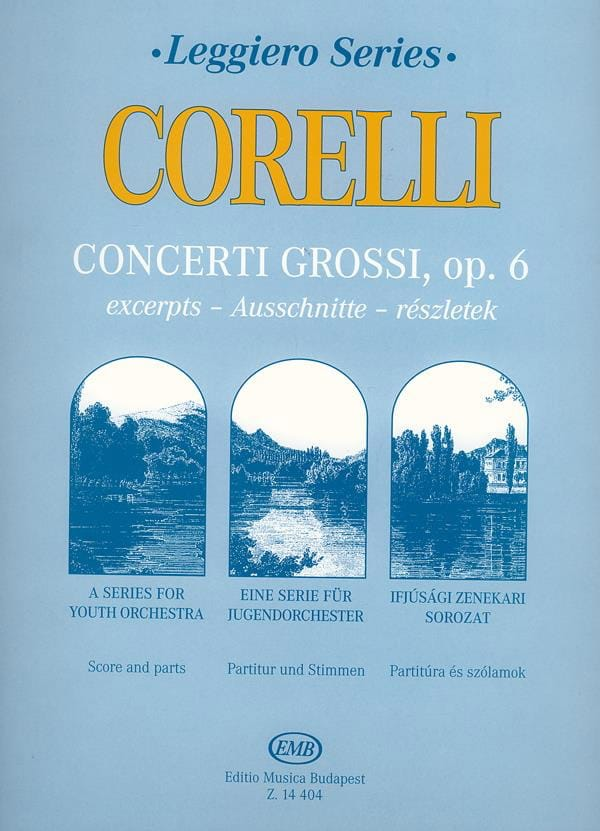 Concerti Grossi For youth String Orchestra op. 6 - laflutedepan.com