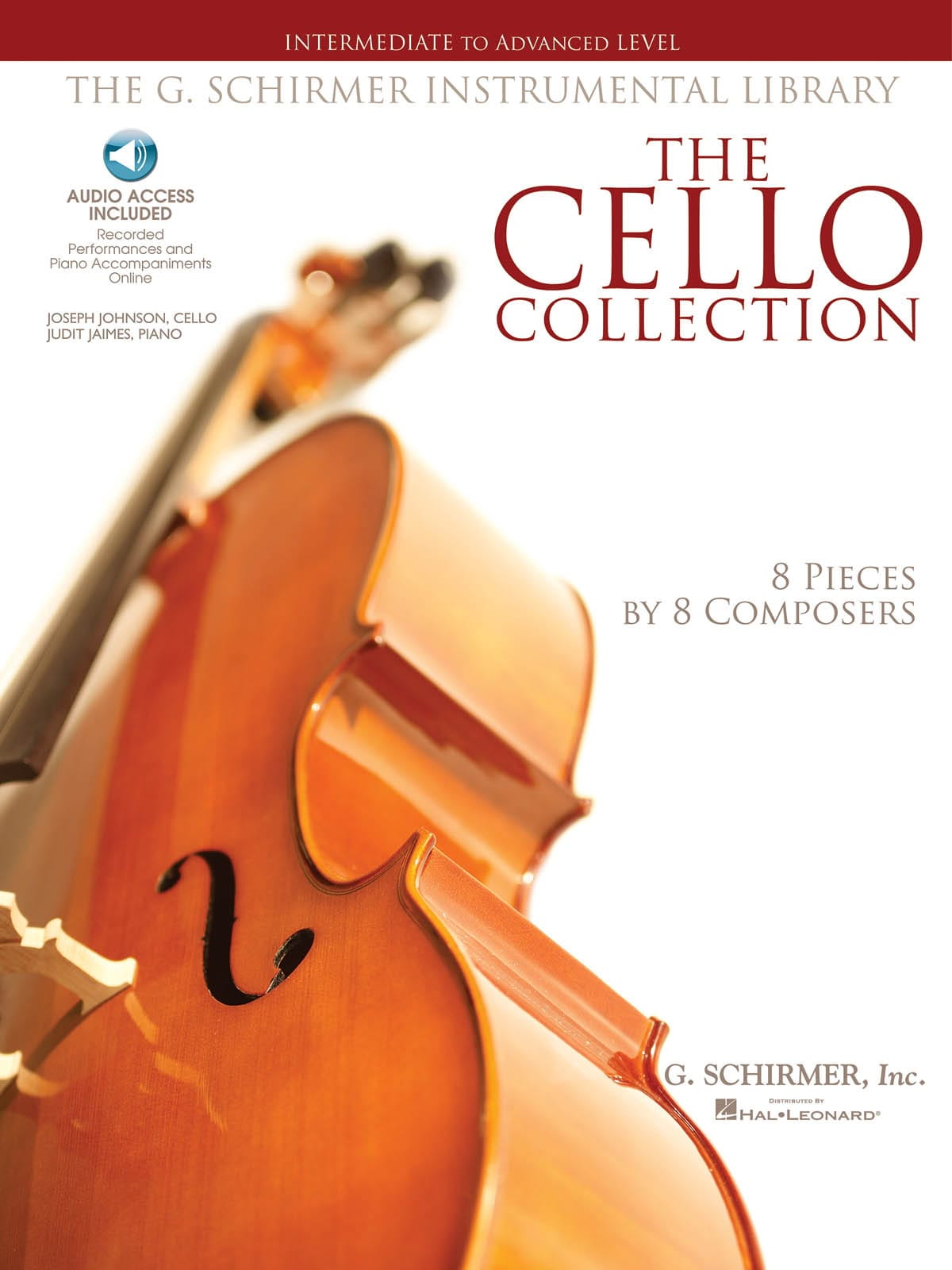 The Cello Collection - Intermediate to Advanced Level - laflutedepan.com