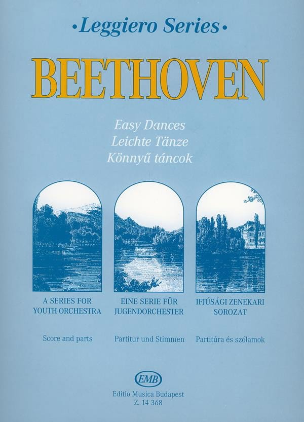 Easy Dances - string orchestra - BEETHOVEN - laflutedepan.com