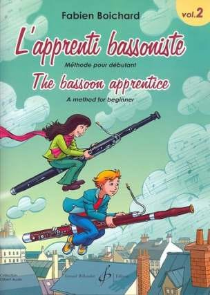 Fabien Boichard - The Bassoon Apprentice Volume 2 - Partition - di-arezzo.co.uk