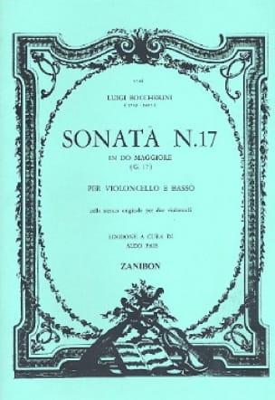 Sonate N° 17 G17 - BOCCHERINI - Partition - laflutedepan.com