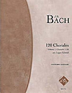 BACH - 120 Chorales Volume 1 - Partition - di-arezzo.fr