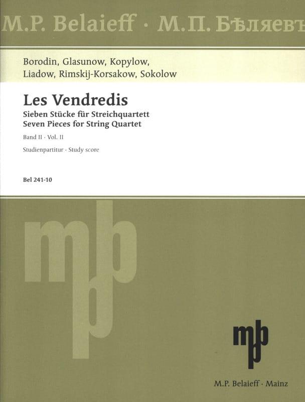Les Vendredis - Band 2 - laflutedepan.com
