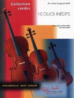 10 Duo Inédits Pour 2 Violoncelles - laflutedepan.com