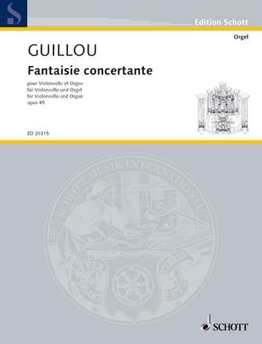 Fantaisie Concertante Op.49 - Jean Guillou - laflutedepan.com