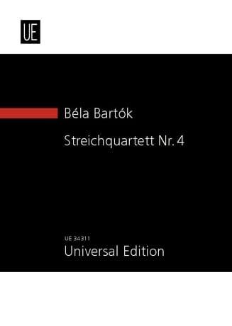 BARTOK - Cuarteto de cuerda n ° 4 - Partition - di-arezzo.es