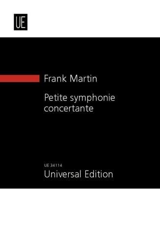 Petite Symphonie Concertante - Frank Martin - laflutedepan.com