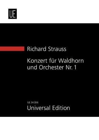Richard Strauss - Waldhornkonzert Es Dur Op. 11 - Partition - di-arezzo.fr