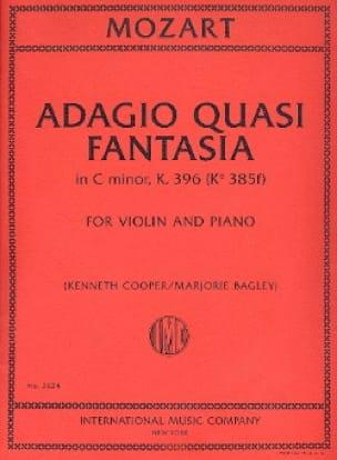 Adagio Quasi Fantasia En Do Min. K.396 - MOZART - laflutedepan.com