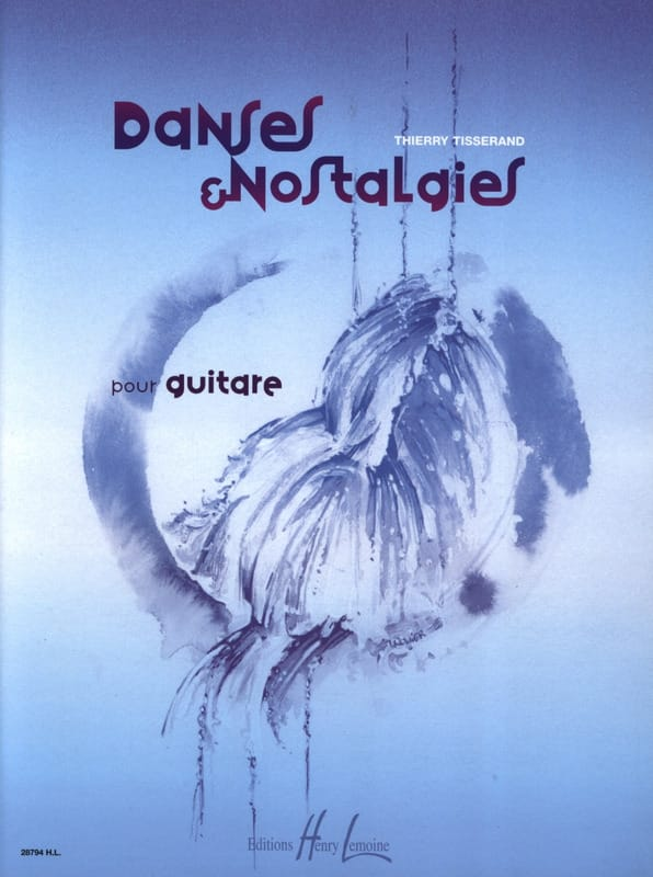 Thierry Tisserand - Danzas y nostalgia - Partition - di-arezzo.es