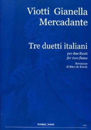 3 Duetti Italiani - laflutedepan.com