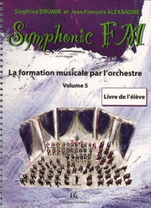 DRUMM Siegfried / ALEXANDRE Jean François - Symphonic FM Volume 5 - Piano - Partition - di-arezzo.co.uk
