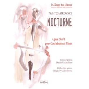 Nocturne - TCHAIKOVSKY - Partition - Contrebasse - laflutedepan.com
