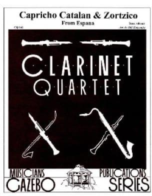 Capriccio Catalan / Zortzico - 4 clarinettes - laflutedepan.com