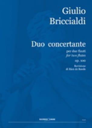 Duo Concertant Op. 100 N° 2 - Giulio Briccialdi - laflutedepan.com