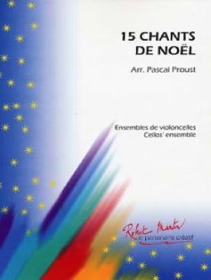 15 Chants de Noël - Pascal Proust - Partition - laflutedepan.com
