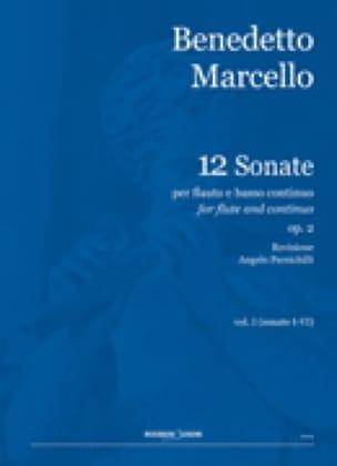 Benedetto Marcello - 12 Sonata Op.2 Volume 1 - Partition - di-arezzo.it