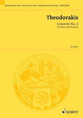 Concerto N°2 Pour Piano et Orchestre - THEODORAKIS - laflutedepan.com