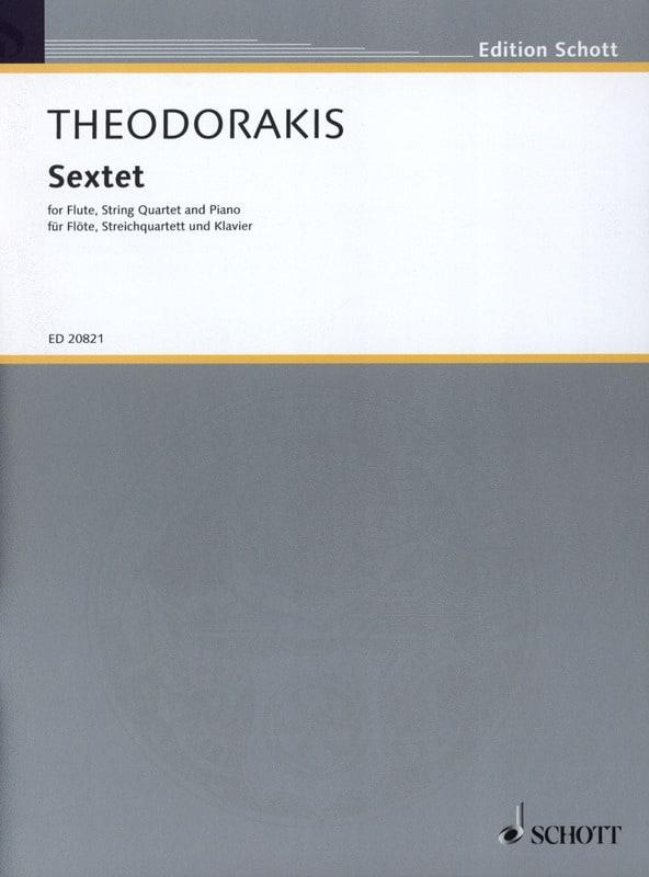 Sextet - THEODORAKIS - Partition - Sextuors - laflutedepan.com
