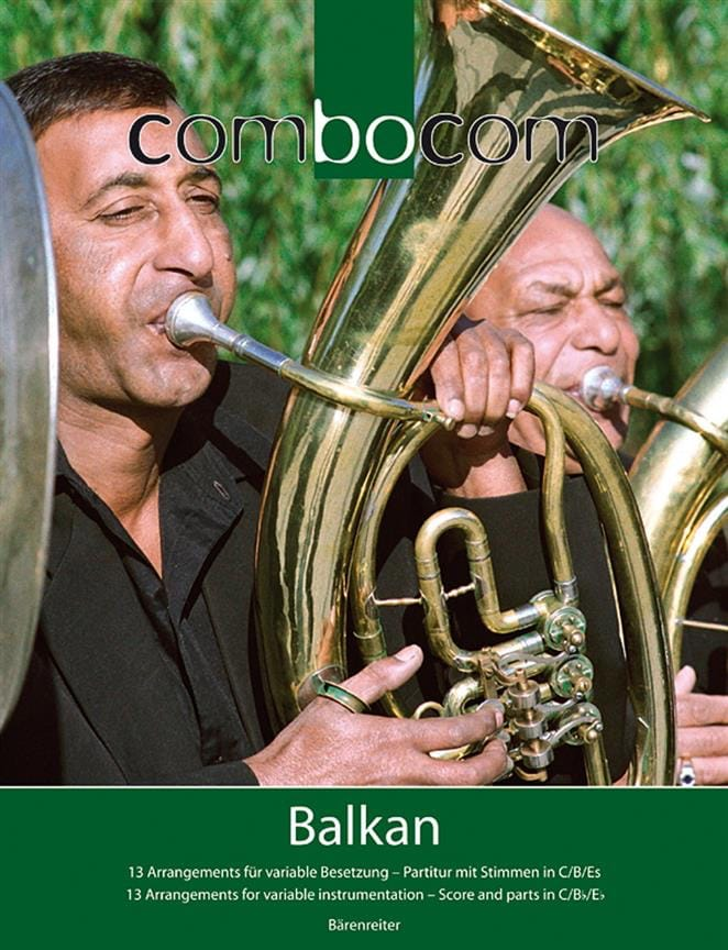 Combocom - Balkan - Partition - ENSEMBLES - laflutedepan.com