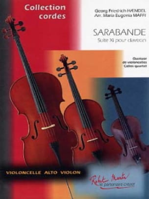 HAENDEL - Sarabande of the Suite N ° XI - Partition - di-arezzo.com