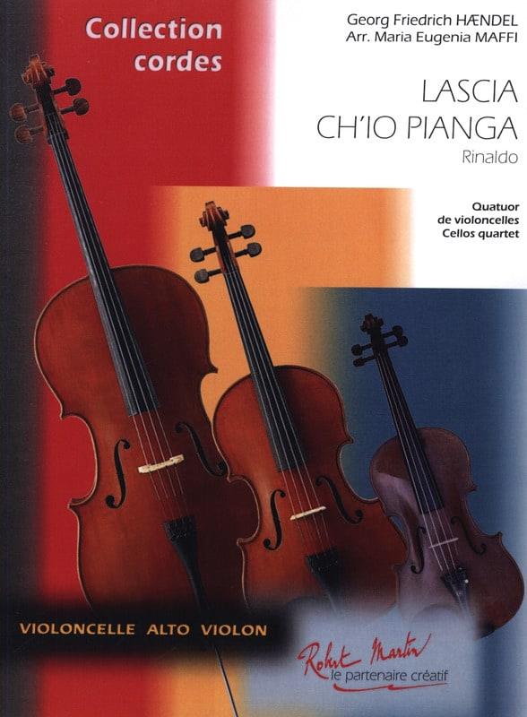 HAENDEL - Lascia Ch'io Pianga Extr. Rinaldo - Partition - di-arezzo.co.uk