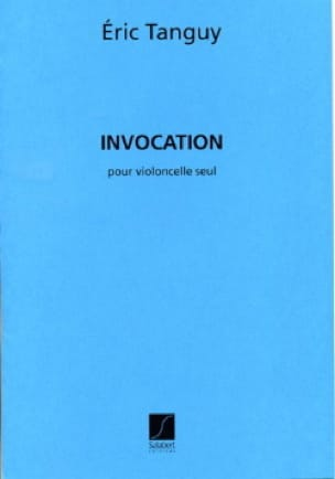 Eric Tanguy - Invocation - Partition - di-arezzo.co.uk
