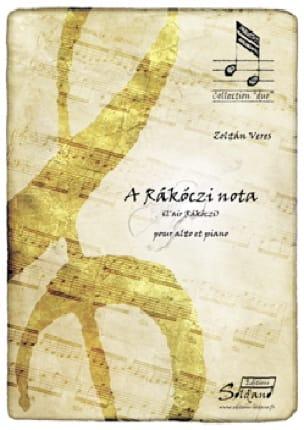 A Rakoczi Nota - Sandor Veress - Partition - Alto - laflutedepan.com
