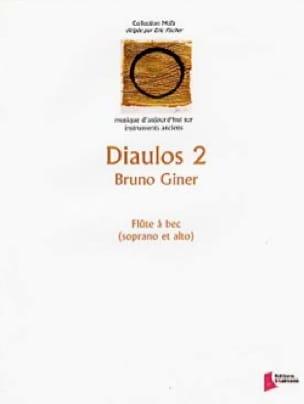 Diaulos 2 - Bruno Giner - Partition - Flûte à bec - laflutedepan.com