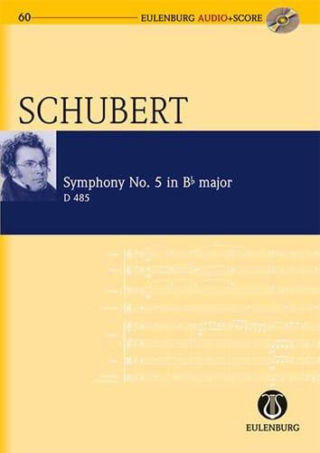 Symphonie N° 5 en Sib Maj. - D 485 - SCHUBERT - laflutedepan.com