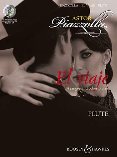 Astor Piazzolla - El Viaje For Flute - Partition - di-arezzo.co.uk