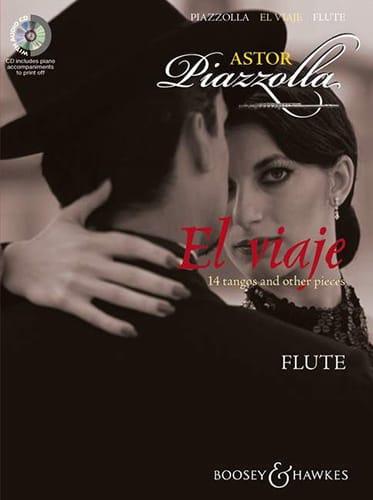 Astor Piazzolla - El Viaje For Flute - Partition - di-arezzo.fr