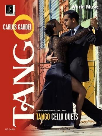 Tango Cello Duets - Carlos Gardel - Partition - laflutedepan.com