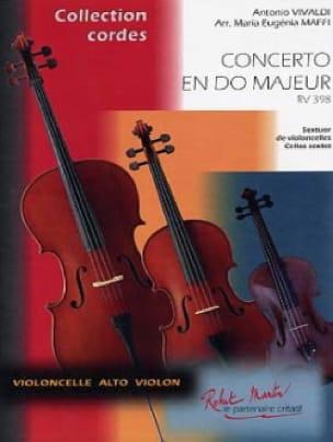 VIVALDI - Concerto In C Maj. Rv.398 - Partition - di-arezzo.com