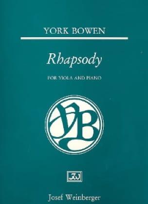 Edwin York Bowen - Rhapsody - Partition - di-arezzo.fr