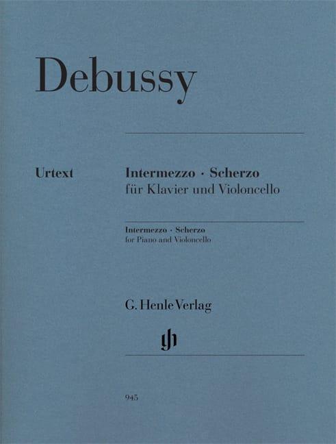 DEBUSSY - Intermezzo - Scherzo - Partition - di-arezzo.fr
