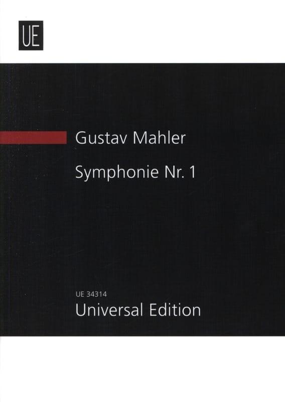 Symphonie N° 1 - Gustav Mahler - Partition - laflutedepan.com